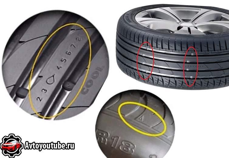 Какие бывают индикаторы износа протектора на шинах и как их найти