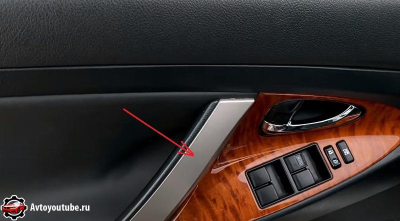 Ручка двери Камри 40 не должна быть протертой на пробегах до 200 тысяч километров