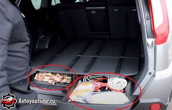 Многие покупают б/у Ниссан X-Trail из-за большого и удобного багажника