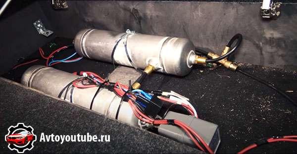 Ресивер пневмоподвески для УАЗ Патриот